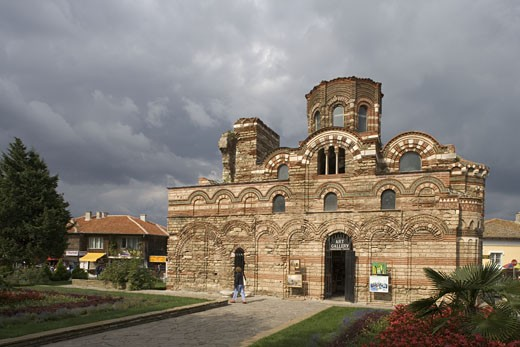 Bulgaria, Nesebar, church of Christ Pantocrator : Stock Photo
