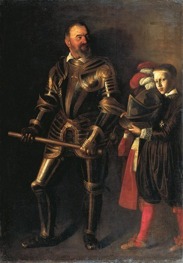 Stock Photo: 1788-47062 Alof De Wignacourt, by  Michelangelo Merisi da Caravaggio (1571-1610).