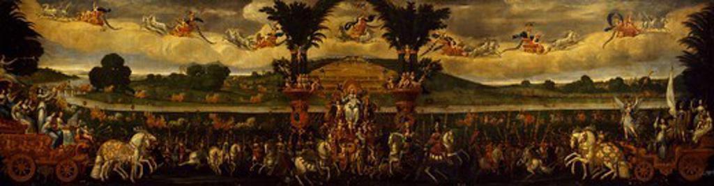 Stock Photo: 1788-48247 Earth, ca 1640, by Claude Deruet (1588-1660).