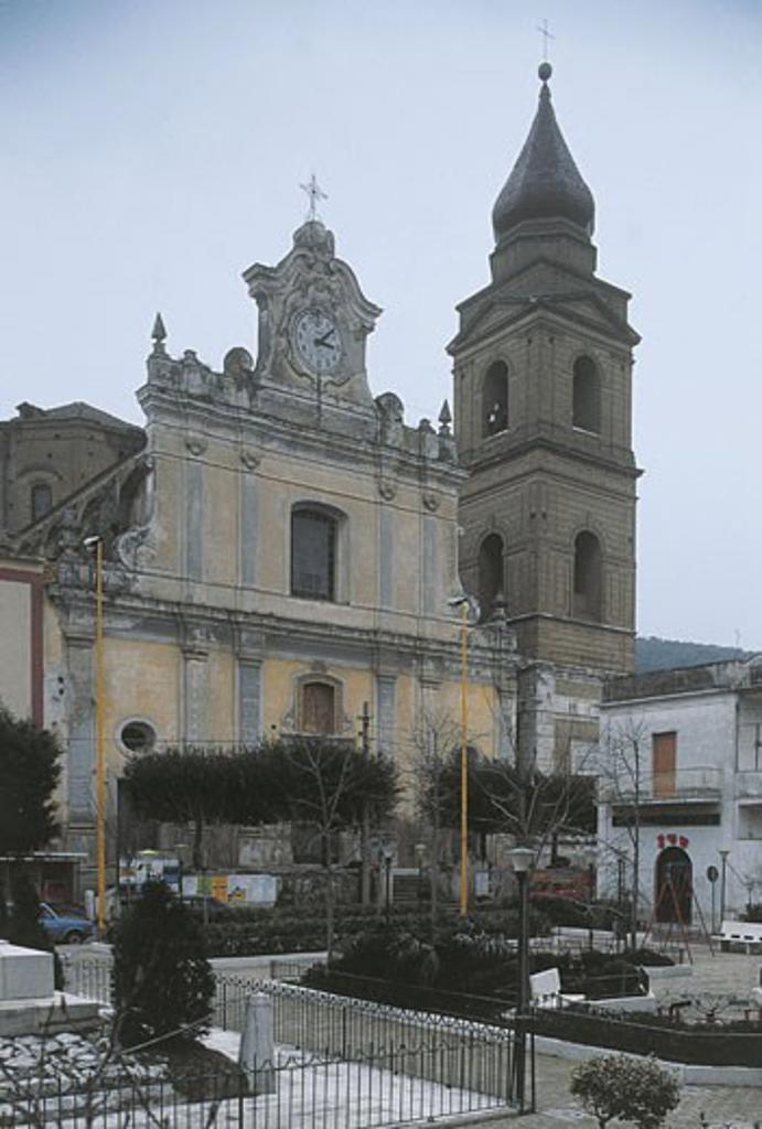 Italy - Campania Region - Santa Maria a Vico - Church of St. Nicholas : Stock Photo