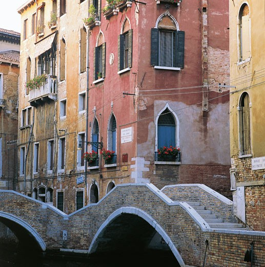Stock Photo: 1788-6127 Italy - Veneto Region - Venice - Dose Foundations (Fondamenta del Dose) - House of Vivaldi