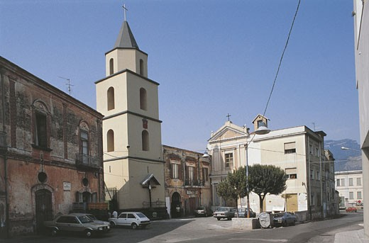 Italy - Campania Region - San Valentino Torio - Church of Our Lady of Consolation : Stock Photo