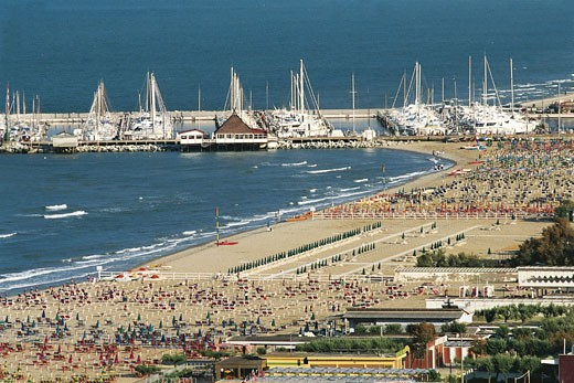 Italy - Emilia Romagna Region - Milano Marittima : Stock Photo