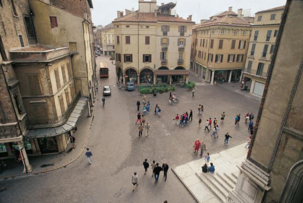 Stock Photo: 1788-6756 Italy - Lombardy Region - Mantova - Mantegna Square