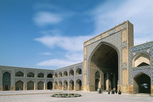 Iran - Esfahan. Friday mosque : Stock Photo