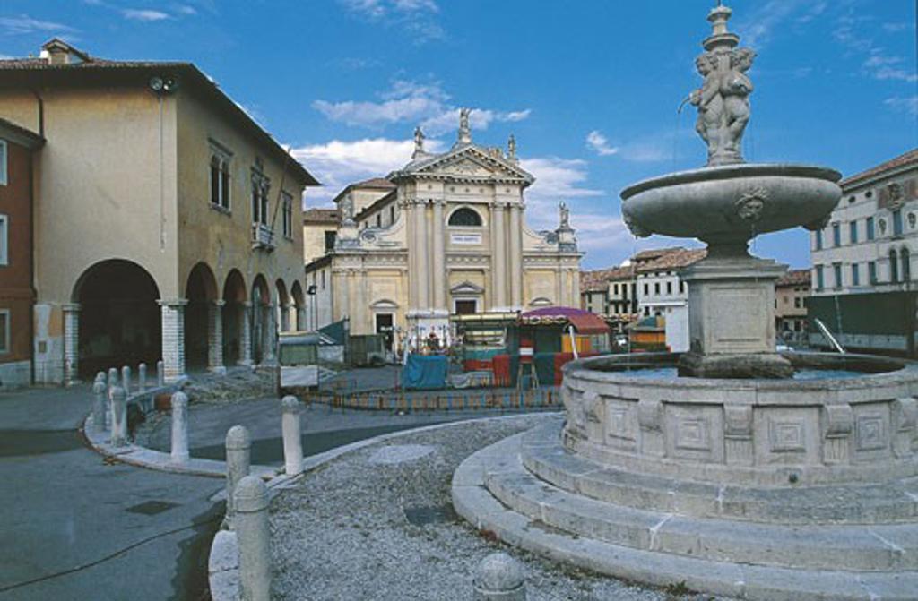 Italy - Veneto Region - Vittorio Veneto - Ceneda : Stock Photo