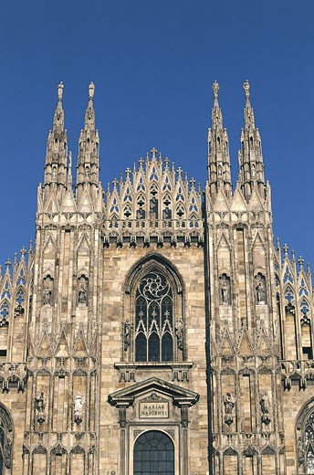 Stock Photo: 1788-7777 Italy - Lombardy region - Milan. Cathedral