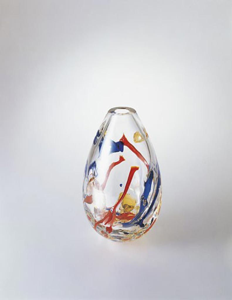 Stock Photo: 1788-8462 Close-up of a glass vase, Murano, Venice, Veneto, Italy