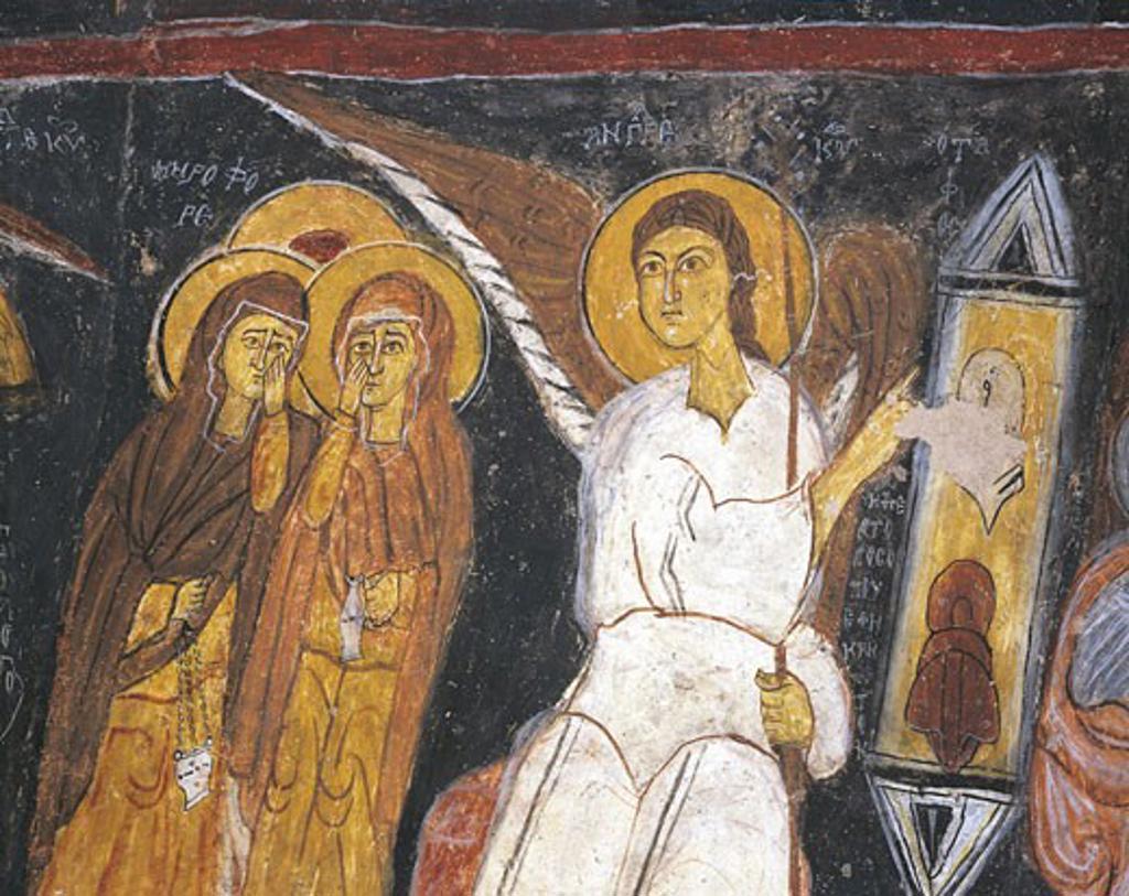 Turkey - Cappadocia. Gülsehir.  St. John's Church, (UNESCO World Heritage Site, 1985) : Stock Photo
