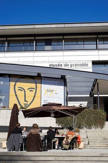France, Isere, Grenoble, Musee de Grenoble Grenoble Museum : Stock Photo