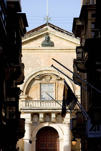 Malta, Valletta listed as World Heritage by the UNESCO, St John´s Co_Cathedral : Stock Photo