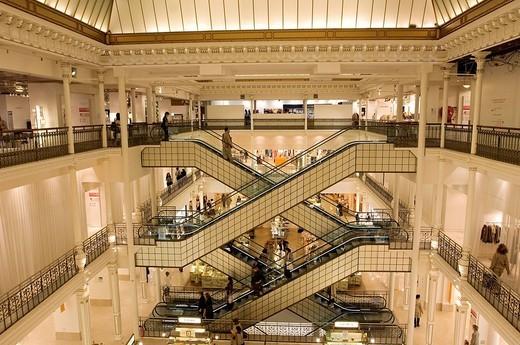 Stock Photo: 1792-103775 France, Paris, Bon Marche Store