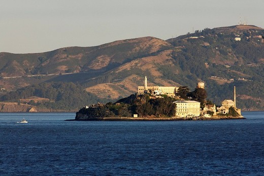 United States, California, San Francisco, Alcatraz Island prison : Stock Photo