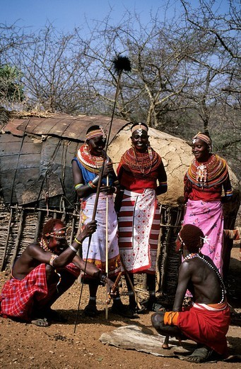 Kenya, Samburu ethnic group : Stock Photo