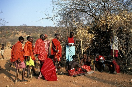 Stock Photo: 1792-105694 Kenya, Samburu ethnic group