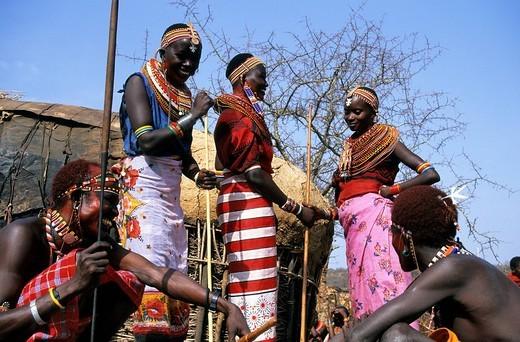Kenya, Samburu ethnic group : Stock Photo