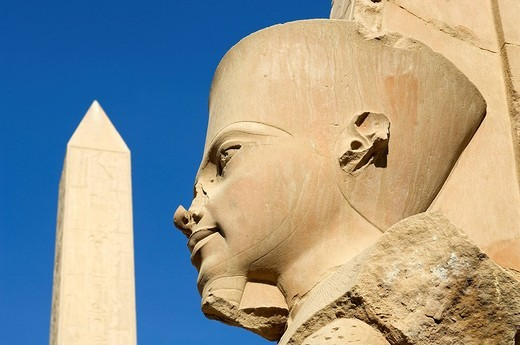 Stock Photo: 1792-108798 Egypt, Upper Egypt, Nile Valley, Luxor, Karnak listed as World Heritage by UNESCO, temple dedicated to Amon God