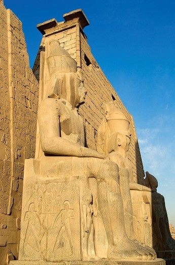 Stock Photo: 1792-108866 Egypt, Upper Egypt, Nile Valley, Luxor Temple listed as World Heritage by UNESCO