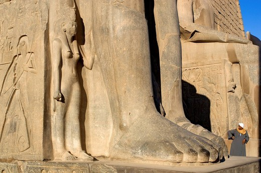 Stock Photo: 1792-108871 Egypt, Upper Egypt, Nile Valley, Luxor Temple listed as World Heritage by UNESCO