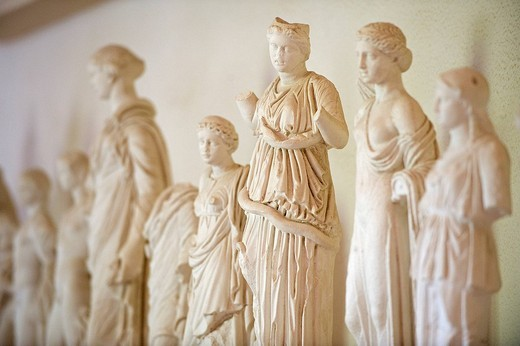 Stock Photo: 1792-112798 Greece, Peloponnese Region, the archaeological site of Epidaurus, listed as World Heritage by UNESCO, the museum