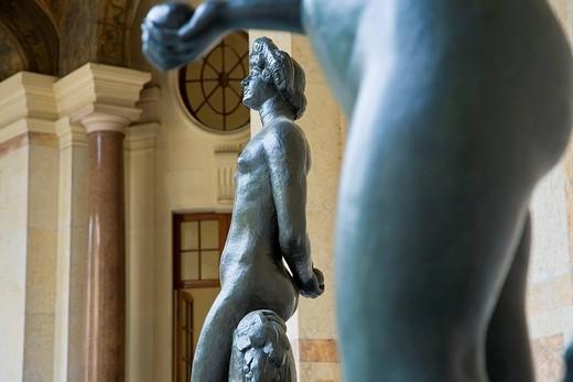 France, Paris, the Petit Palais Museum : Stock Photo