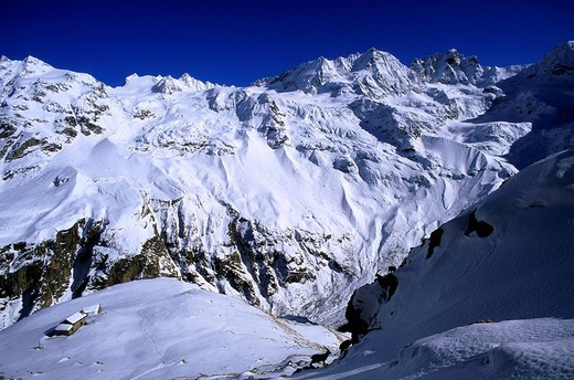 Stock Photo: 1792-115448 Italy, Valle d´Aosta The Aosta Valley, Val di Cogne, Gran Paradiso National Park, general view