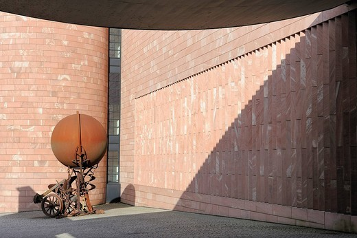 Switzerland, Basel, Tinguely Museum by the architect Mario Botta : Stock Photo