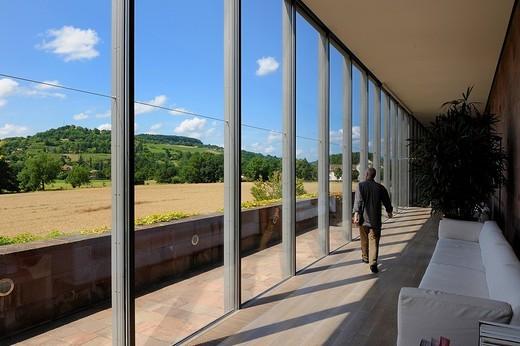 Switzerland, Basel, Beyeler Foundation by the architect Renzo Piano : Stock Photo
