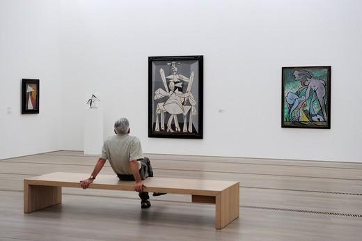 Switzerland, Basel, Beyeler Foundation, the Picasso room : Stock Photo