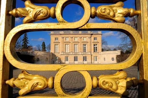 France, Yvelines, Chateau de Versailles, listed as World Heritage by UNESCO, Domaine de Marie Antoinette, the Petit Trianon : Stock Photo