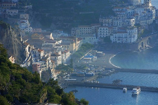 Stock Photo: 1792-120611 Italy, Campania, Amalfi Coast, listed as World Heritage by UNESCO, Amalfi