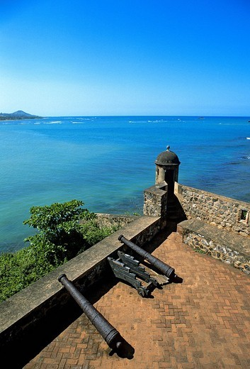 Stock Photo: 1792-121070 Dominican Republic, Puerto Plata province, Puerto Plata, San Felipe Fort built in 1541 to protect the inhabitants againt the pirates