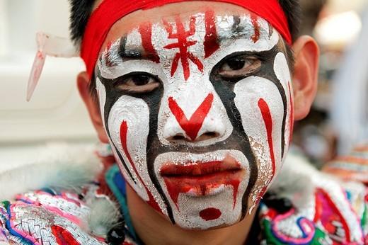 Taiwan, Kaohsiung, Taoist Ceremony, portrait : Stock Photo