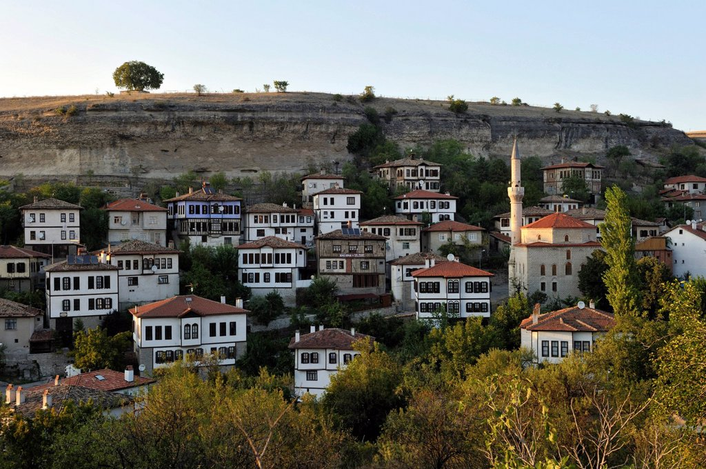 Stock Photo: 1792-125455 Turkey, Black Sea Region, Safranbolu, listed as World Heritage by UNESCO, traditional Ottoman houses