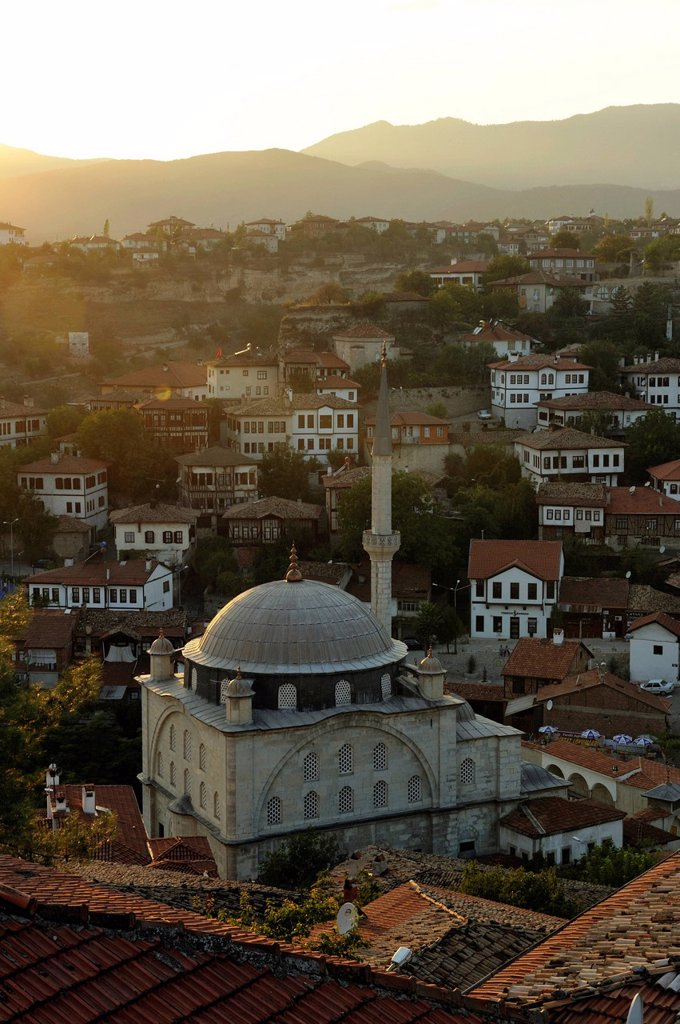 Turkey, Black Sea Region, Safranbolu, listed as World Heritage by UNESCO, traditional Ottoman houses : Stock Photo