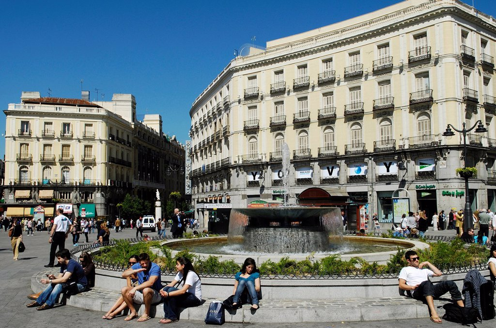 Stock Photo: 1792-126761 Spain, Madrid, Puerta del Sol