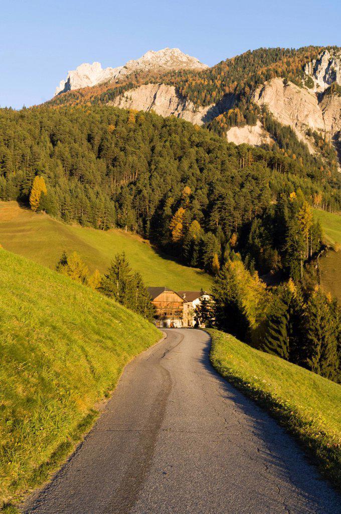 Stock Photo: 1792-129620 Italy, Trentino_Alto Adige, autonomous province of Bolzano, Dolomites, Val di Funes Funes valley, Santa Maddalena