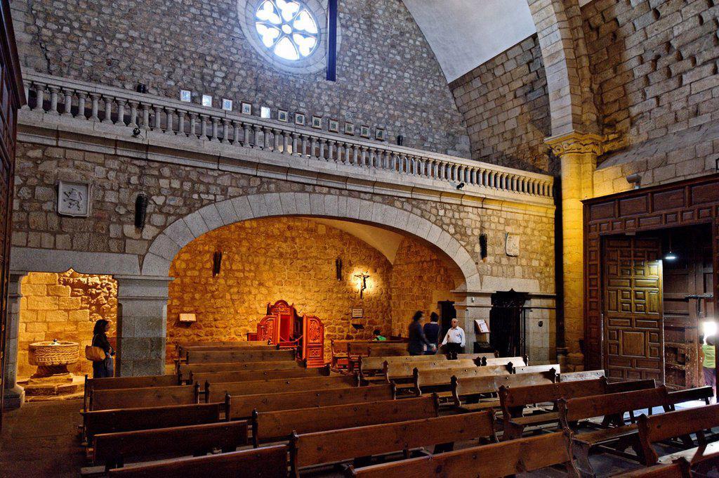 Stock Photo: 1792-130541 Spain, Extremadura, Plasencia, church of San Nicolas