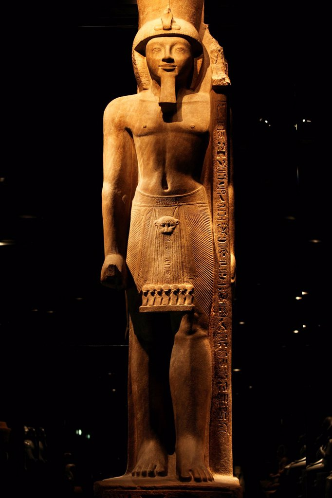 Stock Photo: 1792-132830 Italy, Piedmont, Turin, Egyptian Museum, King Sety II 19th dynasty, reign of Sety II, 1200_1194 BC
