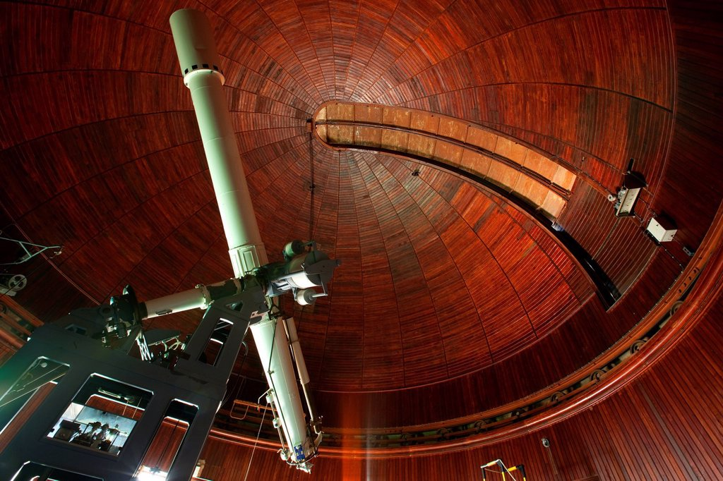 Stock Photo: 1792-135289 France, Alpes Maritimes, Nice, Mont Gros, the observatory was established in 1881 by philanthropist Raphael Bischoffsheim, the small equatorial