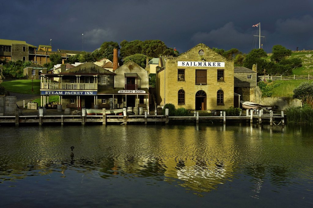 Australia, Victoria, Great Ocean Road, Warrnambool, the Flagstaff Hill : Stock Photo