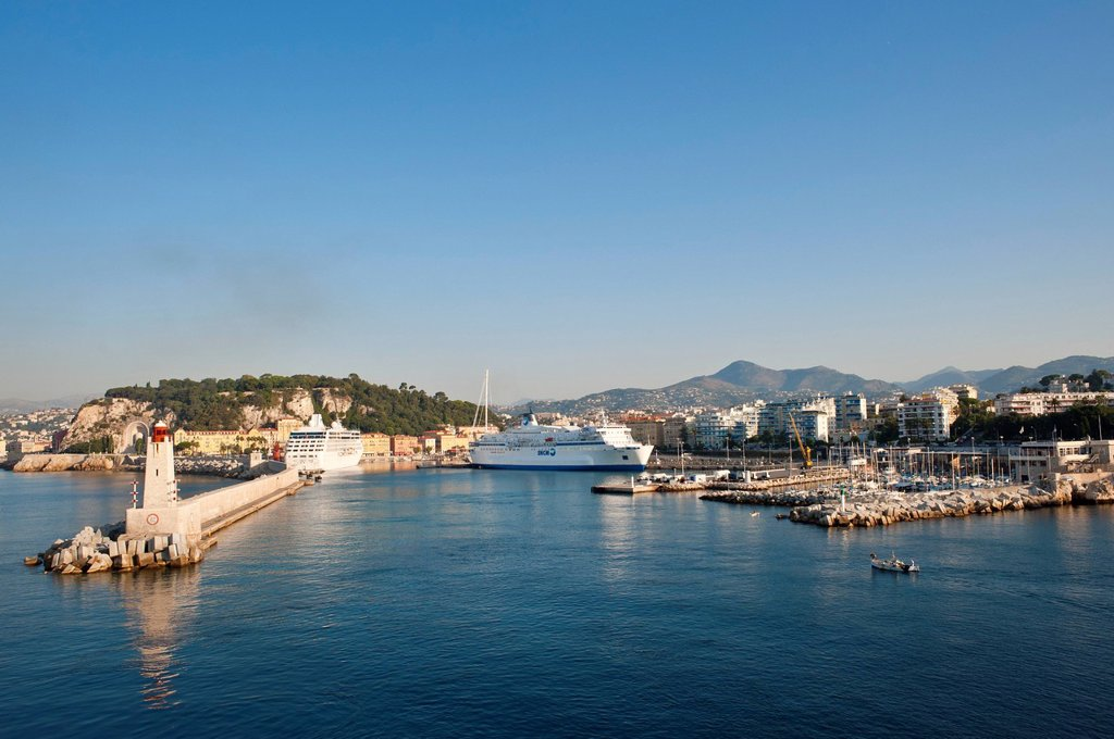Stock Photo: 1792-138646 France, Alpes Maritimes, Nice, the port