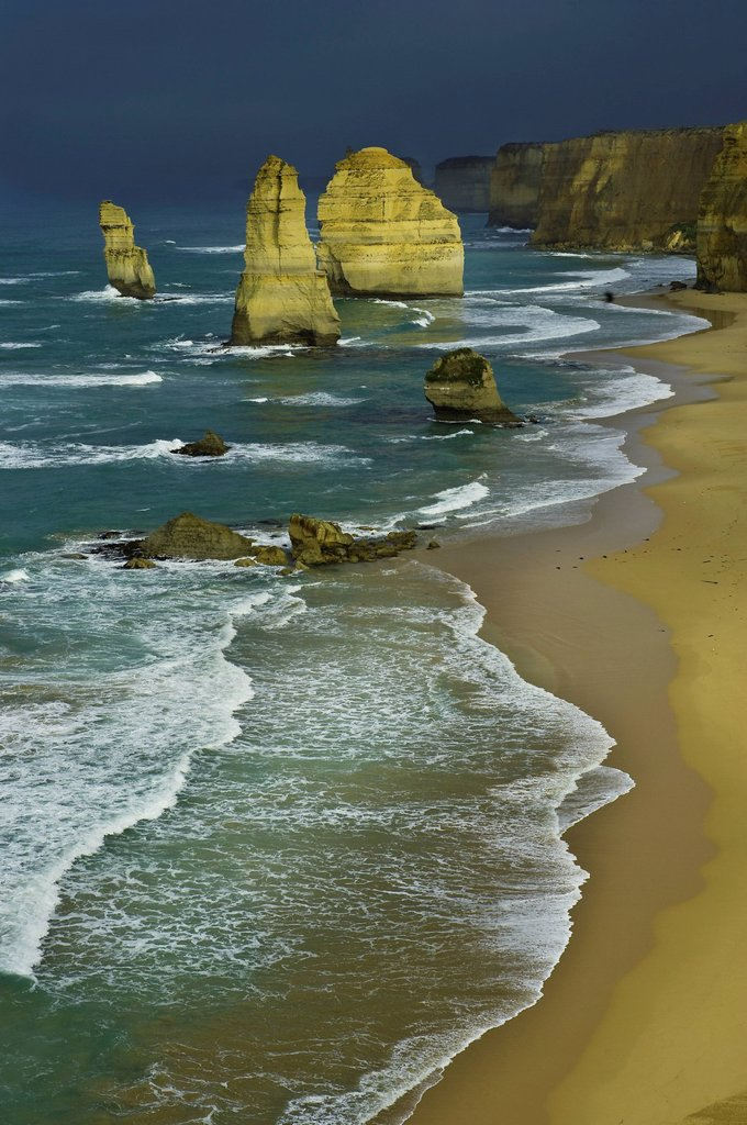 Australia, Victoria, Great Ocean Road, Campell National Park, the Twelve Apostles : Stock Photo
