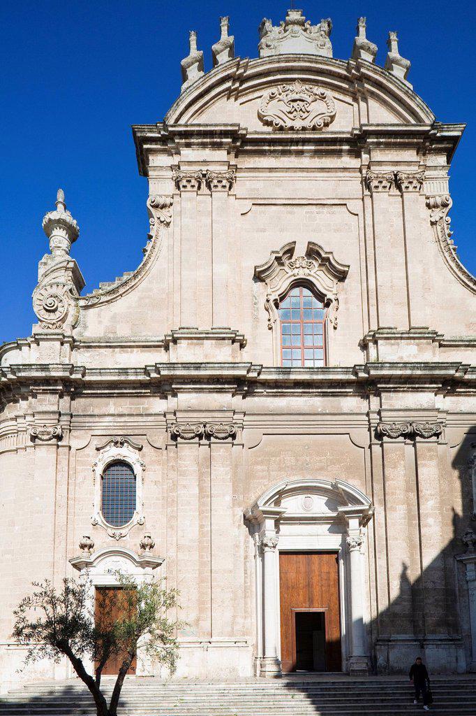 Stock Photo: 1792-143435 Italy, Puglia, Bari province, Monopoli, Basilica di Maria Santissima della Madia, Duomo entirely rebuilt in the 18th century