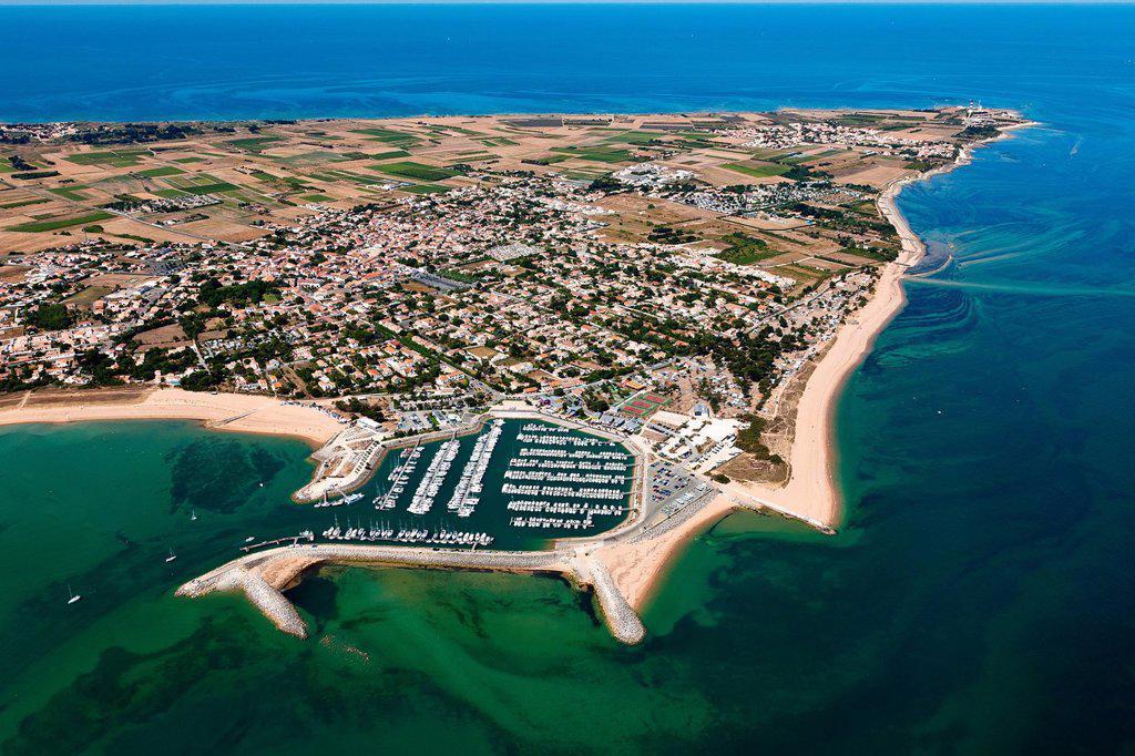 Stock Photo: 1792-143454 France, Charente Maritime, Saint Denis d´Oleron, Ile d´Oleron aerial view