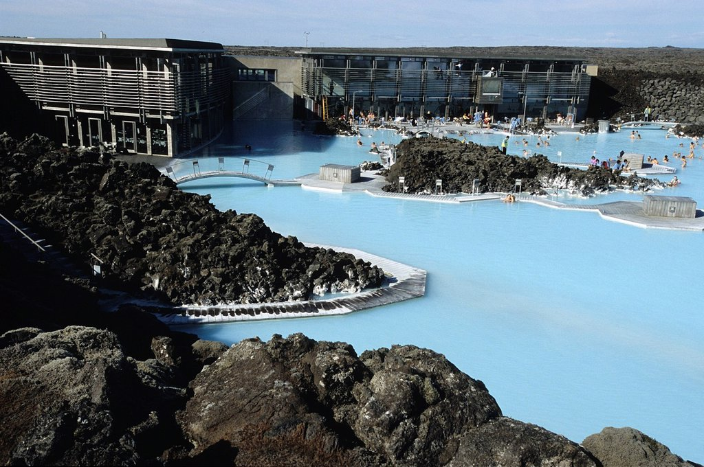 Stock Photo: 1792-147903 Iceland, Sudurnes Region, Grindavik, Blue Lagoon