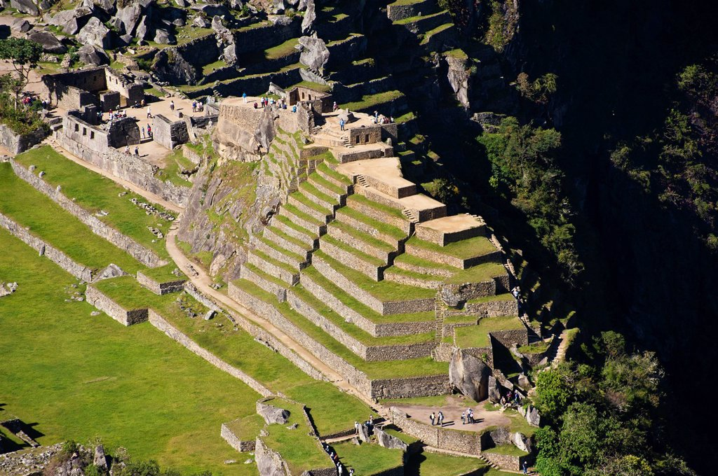 Stock Photo: 1792-148474 Peru, Cuzco Province, Incas sacred valley, Inca archeological site of Machu Picchu, listed as World Heritage by UNESCO, built in the 15th century under the reign of Pachacutec Pachacuti Inca Yupanqui, the site was discovered by explorer Hiram Bingham in 1. Peru, Cuzco Province, Incas sacred valley, Inca archeological site of Machu Picchu, listed as World Heritage by UNESCO, built in the 15th century under the reign of Pachacutec Pachacuti Inca Yupanqui, the site was discovered by explorer Hiram