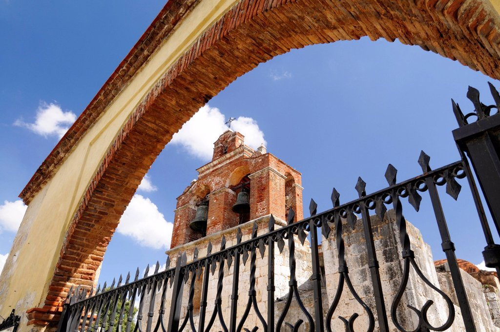 Stock Photo: 1792-149199 Dominican Republic, Santo Domingo province, Santo Domingo, colonial town listed as World Heritage by UNESCO, Santa Maria la Menor Cathedral, the first Cathedral of the Americas
