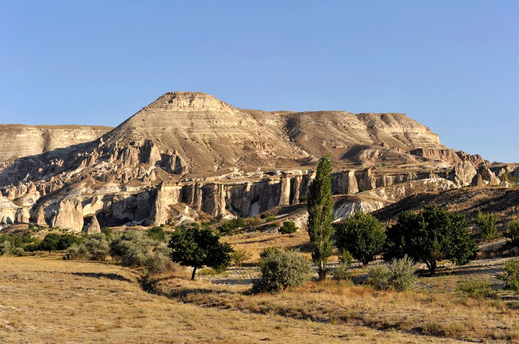 Turkey, Central Anatolia, Cappadocia listed as World Heritage by UNESCO, Zelve Valley : Stock Photo