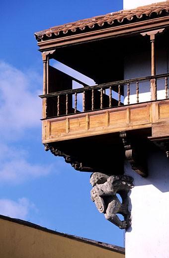 Spain, Canary Islands, Gran Canaria island, Las Palmas Christopher Colombu´ house : Stock Photo